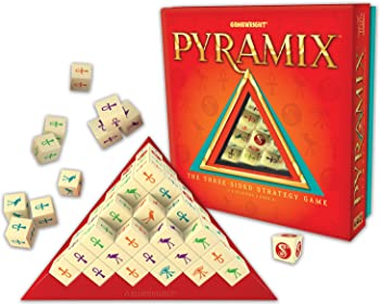 Gamewright Pyramix The Three Sided Strategy Game