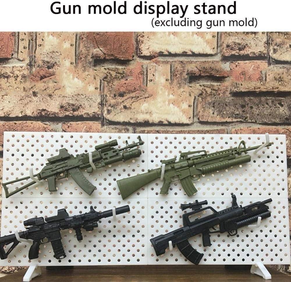 Black Rifle Rack Model Wood Gun Rack 1//6 scale Military Equipment Accessories