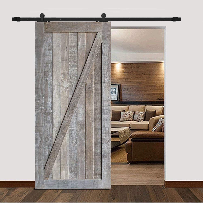 BL casa decorar Kit de Hardware pista deslizante puerta del ...