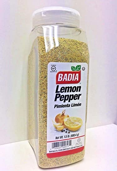 1.5 lbs-Lemon Pepper Seasoning/Sazon Pimienta Limon Gluten Free Kosher