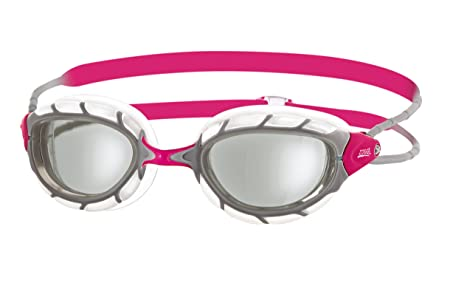 Zoggs Predator Swimming Goggles, Women, Pink, One Size