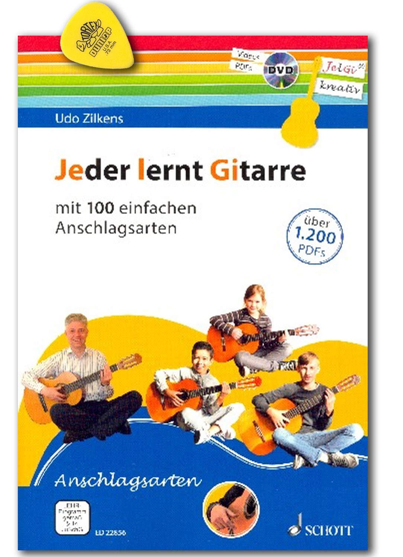 Todo el mundo aprende la guitarra - con 100 sencillos tipos de ...