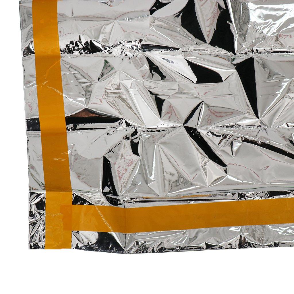 Saco de Dormir Emergencia Desastres Supervivencia Ligero C/álido Confortable de 200X100 cm