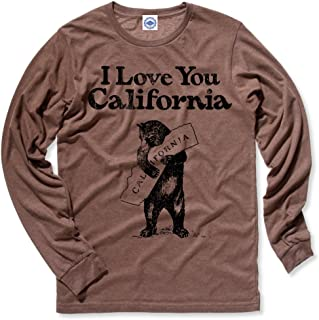 product image for Hank Player U.S.A. I Love You California Men's Long Sleeve T-Shirt
