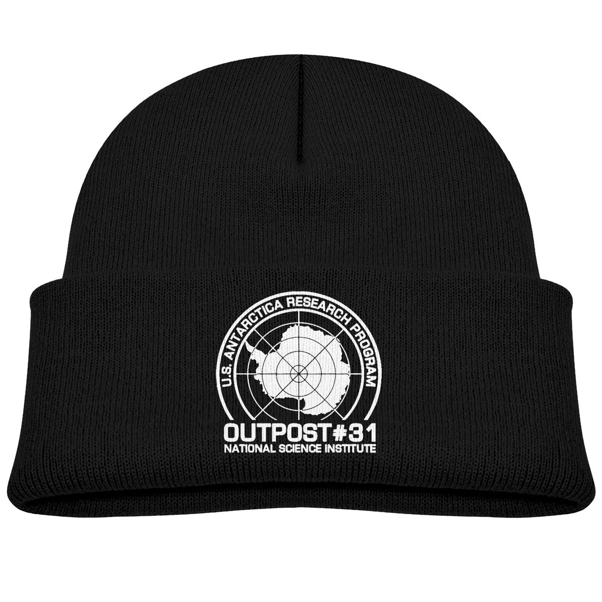Feeke Outpost 31 Antarctica Research Beanie Cap Thick,Soft,Warm Slouchy Knit Hat for Boys /& Girl Winter Soft Ski Cap