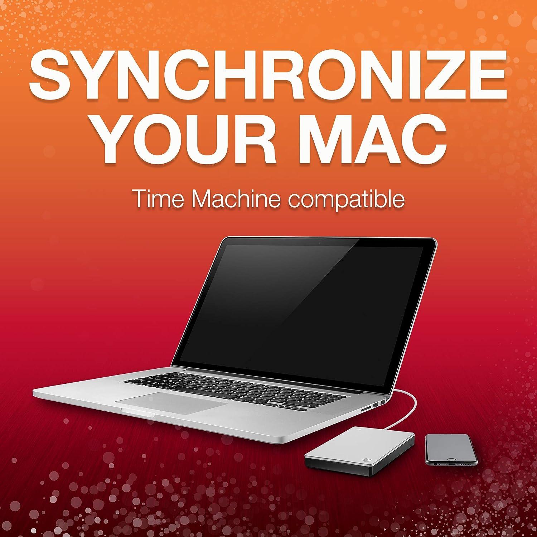 Amazon.com: Seagate Backup Plus Portable Drive para Mac ...