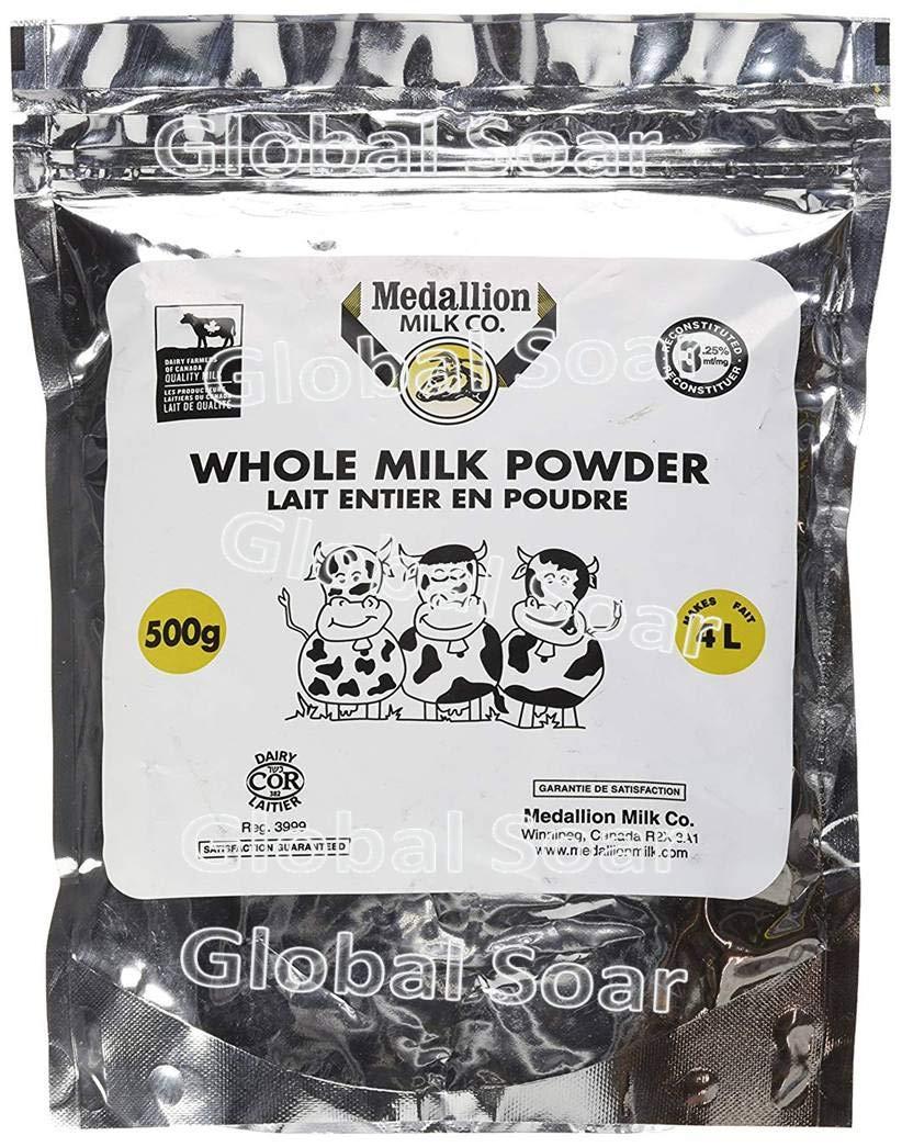MEDALLION Whole Milk Powder 500g (1 Bag)