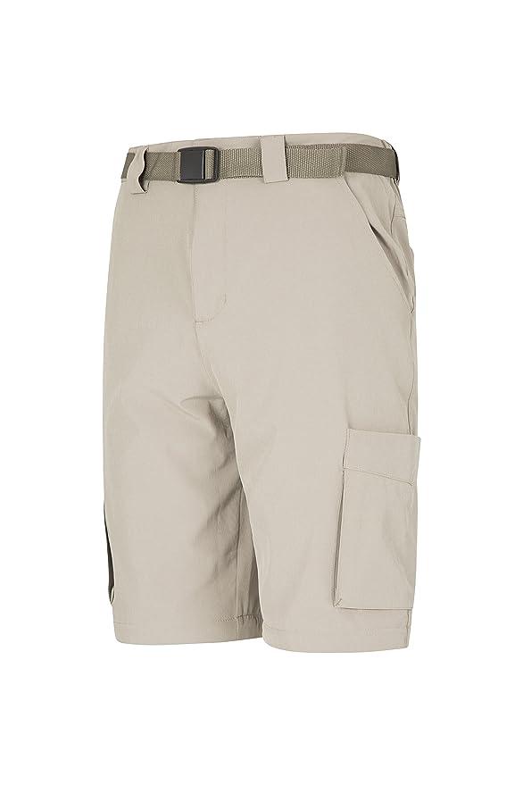 Mountain Warehouse Travelling Pantalones Convertibles de Mens del Estiramiento Que viajan - contra-Mosquito jadearon,…