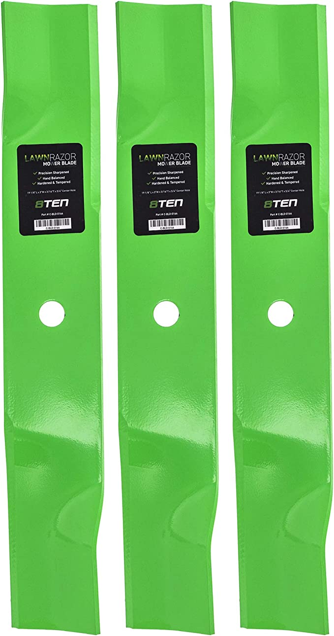Stens Genuine Part 350-372 Hi-Lift Blade Pack of 6