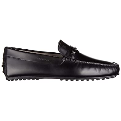 7edc59f715d Tod s Men s Leather Loafers Moccasins City Gommino Black  Amazon.co.uk   Shoes   Bags