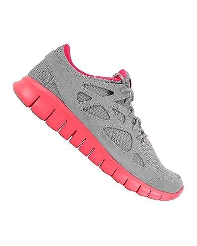 purchase cheap bc172 3aae7 Nike Free Run Run+ 2 WVN Woven Running Shoes Gray Infrared, EU Shoe Size