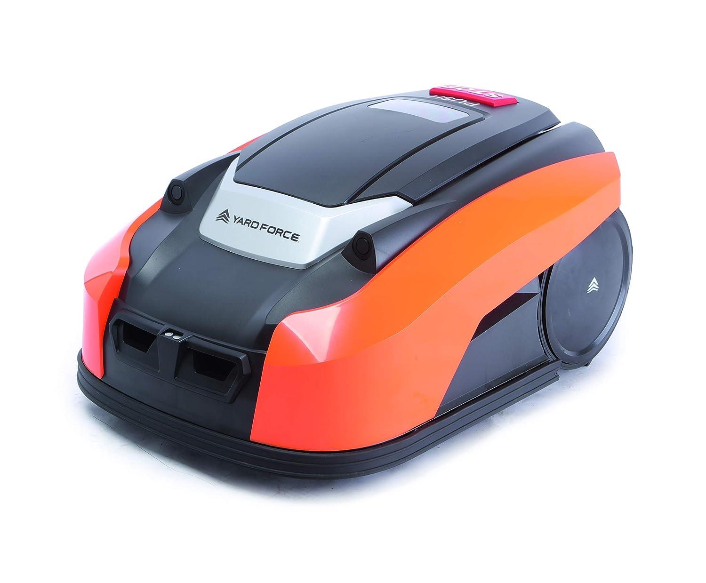 YardForce X60i - Robot tosaerba 28 V, colore  Nero Arancione