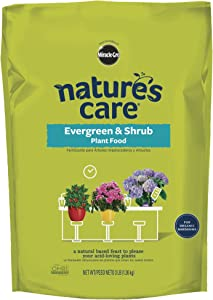 Nature's Care 100134 Miracle-GRO Natural Evergreen and Shrub Plant Food