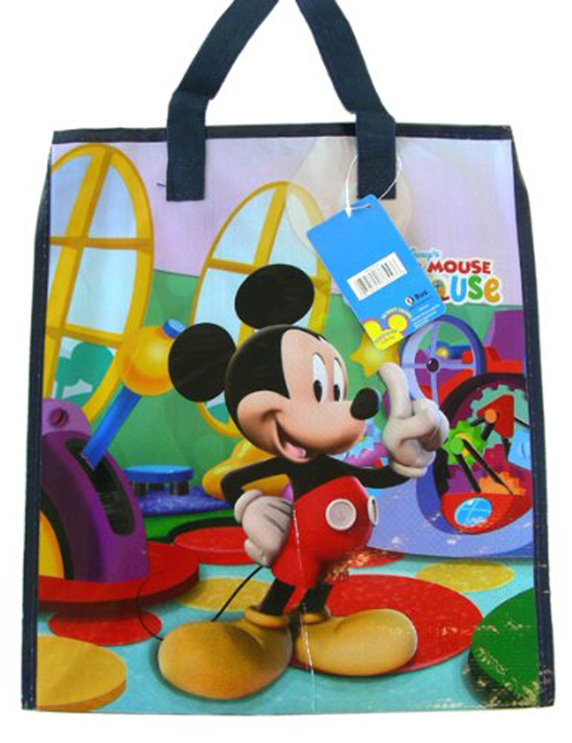 Black Mickey Mouse Clubhouse Tote Bag