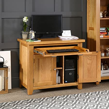 london solid oak hideaway home office computer. Cheshire Oak Hideaway Home Office Computer Desk London Solid E