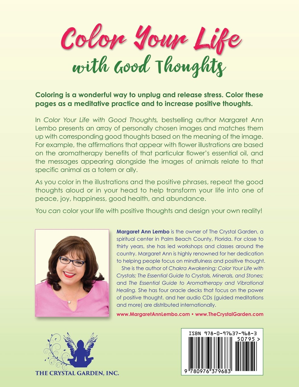 amazon com color your life with good thoughts 9780976379683