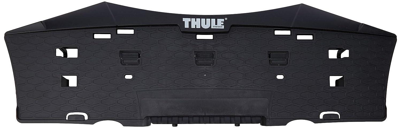 Talla /Única Gris Unisex Adulto Aluminio Thule TH51244 Soporte de Matr/ícula