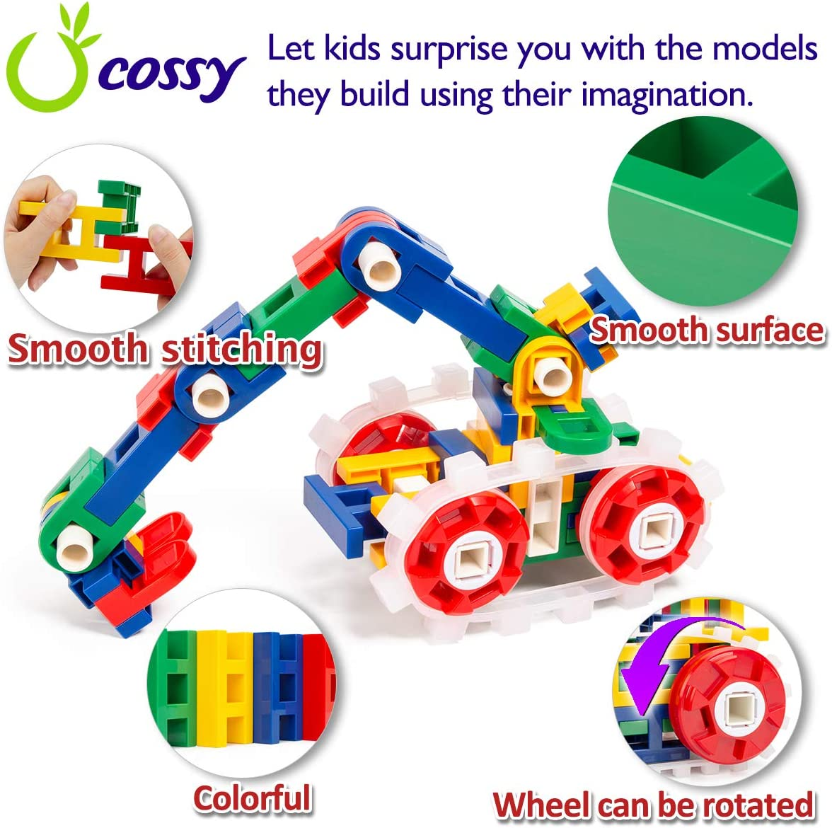 Engineering Construction Building Blocks 298 Pieces for ...