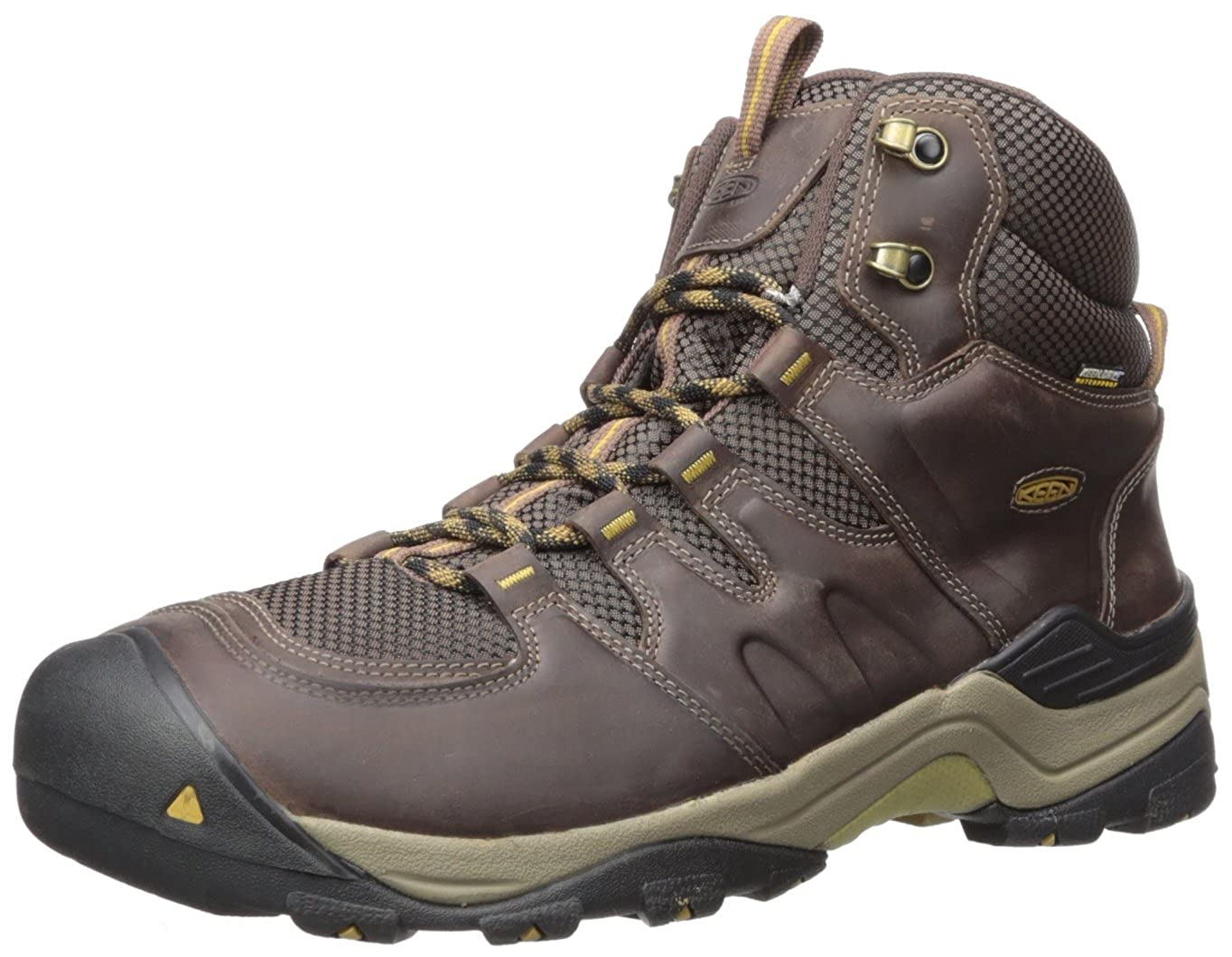 Marron (Coffee Bean Bronze Mist) 39.5 EU KEEN Gypsum II Mid WP, Chaussures de Randonnée Hautes Homme