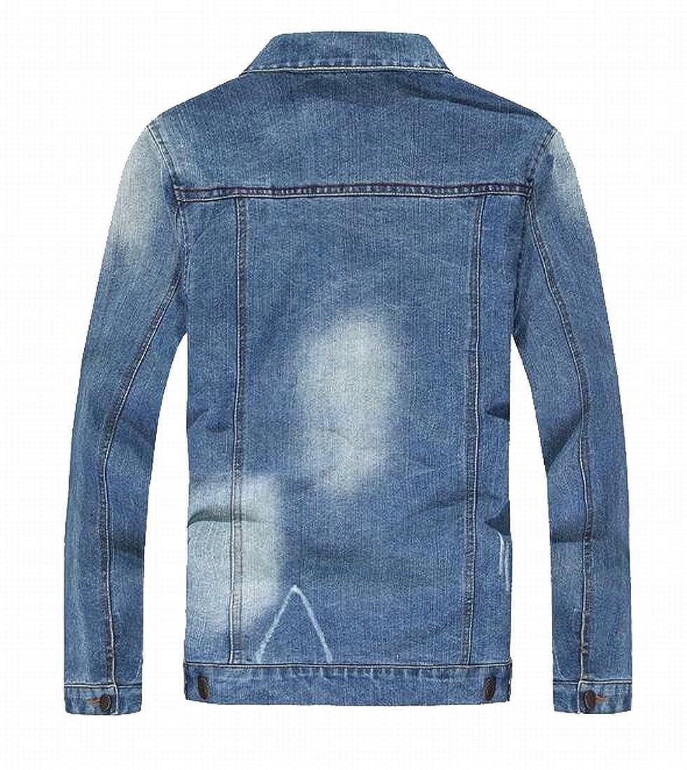 BOBOYU-Men Casual 3D Print Short Sleeve Button Down Slim Fit Court Style Shirt Top