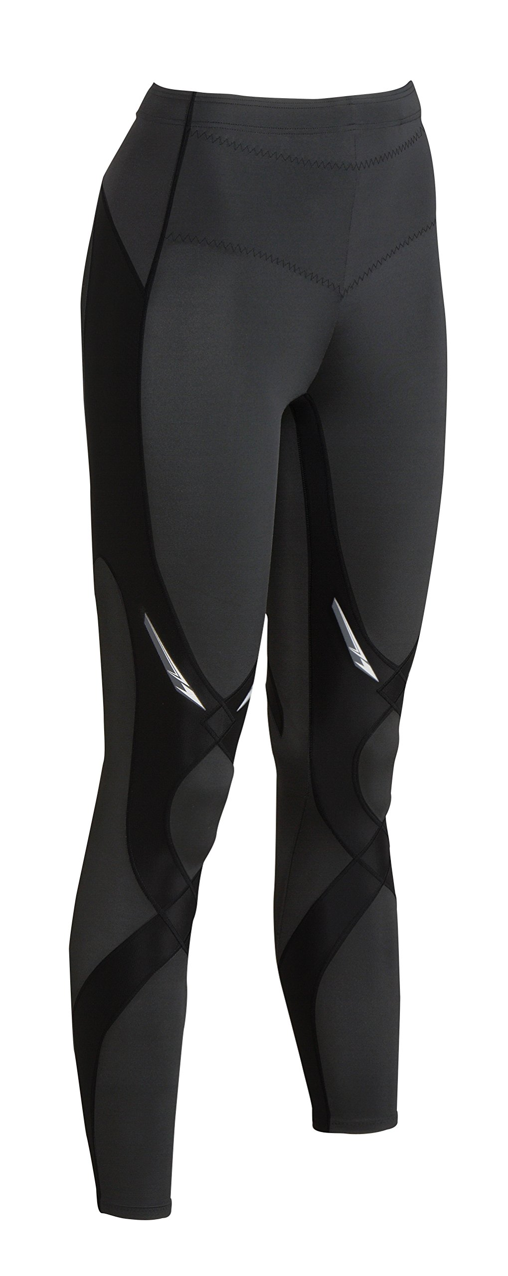 CW-X Women's Mid Rise Full Length Stabilyx Compression Legging Tights by CW-X