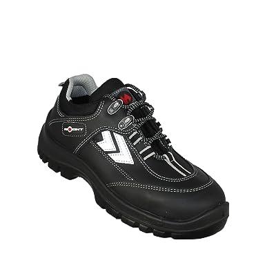 Aimont mirgo chaussures de sécurité norme s3 sRC chaussures berufsschuhe businessschuhe plat noir