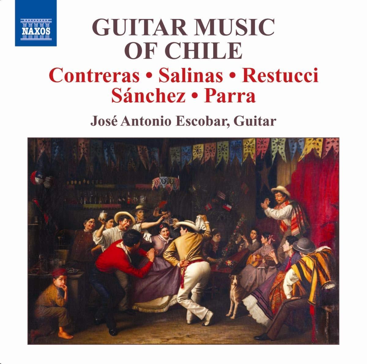 Musica Para Guitarra De Chile-J.A.Escoba: Antonio Escobar José ...