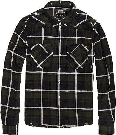 Superdry Bailey Western Check - Camisa de cuadros para mujer