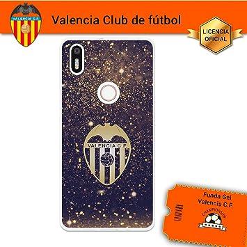 Valencia C.F. Funda Gel Flexible Bq Aquaris X5 Plus, Carcasa ...