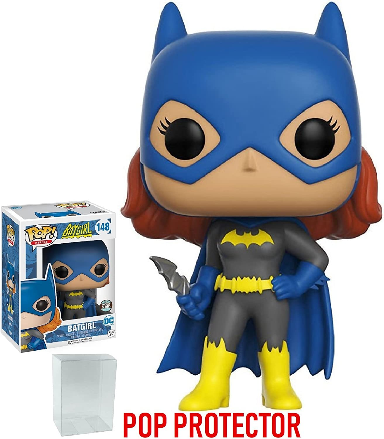 Funko Pop! DC Heroes Batgirl Specialty Series Vinyl Figure Bundled with Free Pop BOX PROTECTOR CASE