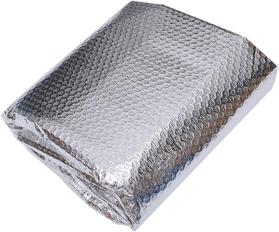 YARNOW Cubierta de Piscina Película Térmica de Aislamiento Térmico sobre El Suelo Manta de Piscinas para Interior Exterior Tamaño M