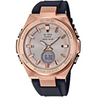 Ladies' Casio Baby-G G-MS Black and Rose-Tone Watch MSGS200G-1A