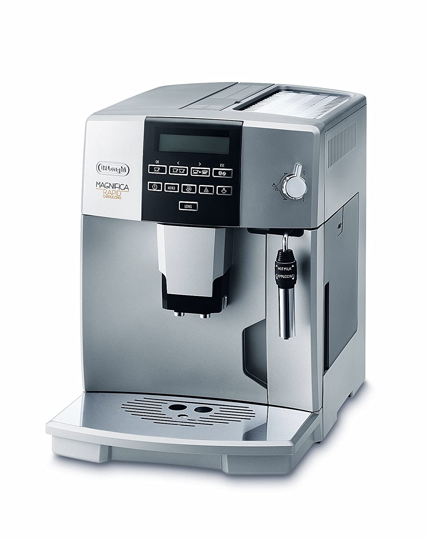 DeLonghi ESAM 04, Plata, 1350 W, 360 x 280 x 380 mm - Máquina de café