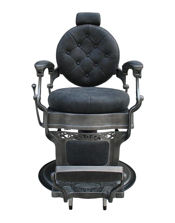 Wayne Vintage barber chair color Black loadable up to 300KG Mirplay