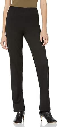 The Drop Pantalón para Mujer, Ajustado Elástico con Abertura en el Bajo, por @lucyswhims