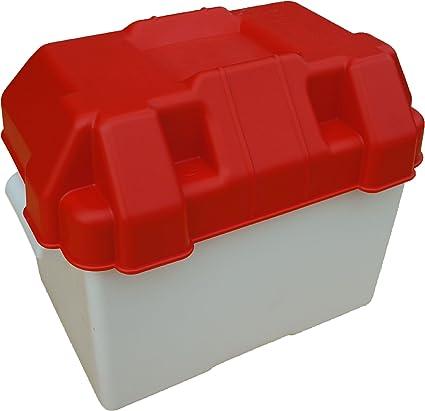 Caja para batería de 85 amperios para remolque, caravana o barca ...