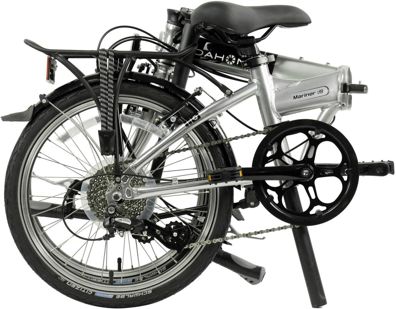 dahon mariner folding bike folded-in