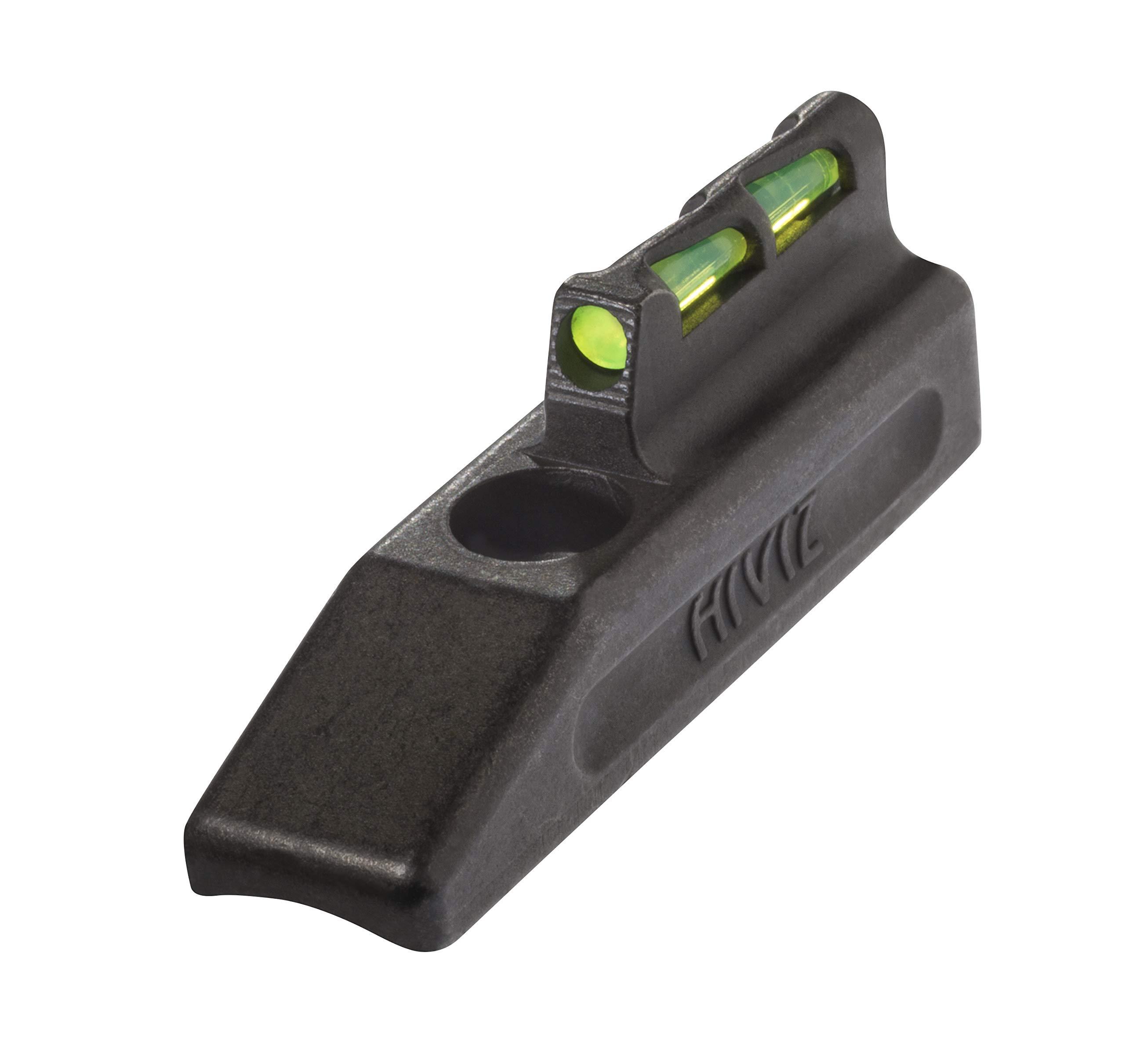 HIVIZ HRBLW01 Ruger Mark II and Mark III Interchangeable LITEWAVE Front Handgun Sight by HIVIZ