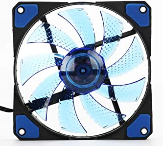 Tree-on-Life - Ventilador para PC (120 mm, LED, 15 ledes, 12 V ...