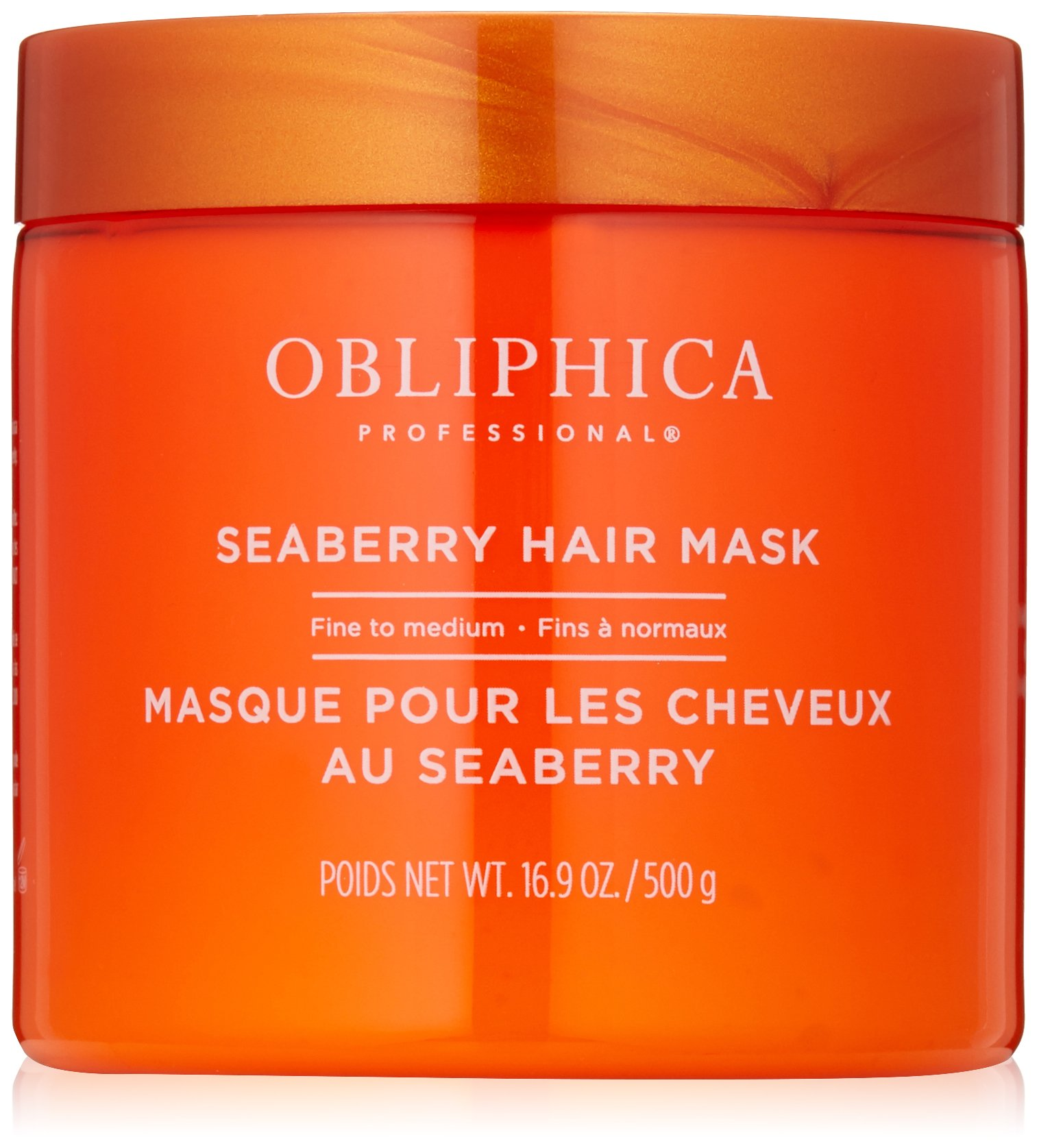 Obliphica Professional Fine to Medium Seaberry Mask, 16.9 oz