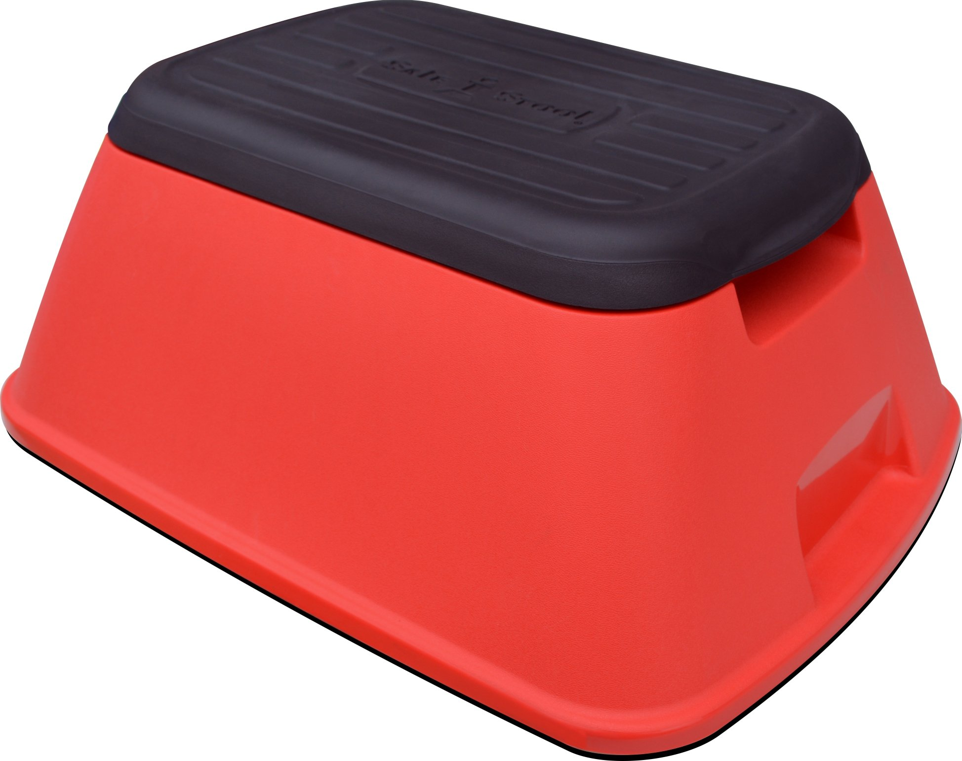 Safe-T-Stool the Safest, Most Versatile Stool in America (Matte Red)