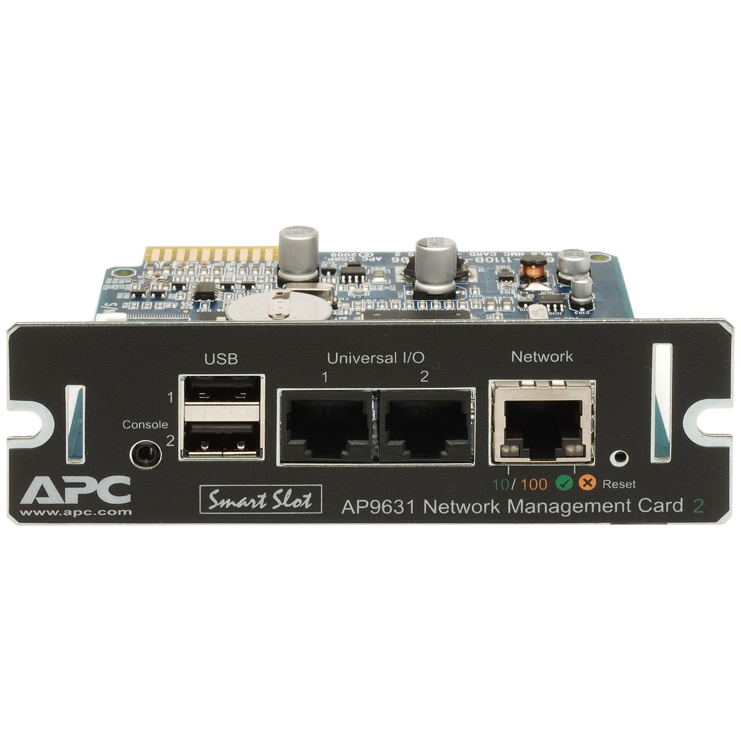 09f54563ddb Amazon.com: APC AP9631 UPS Network Management Card 2 with Environmental  Monitoring: Home Audio & Theater