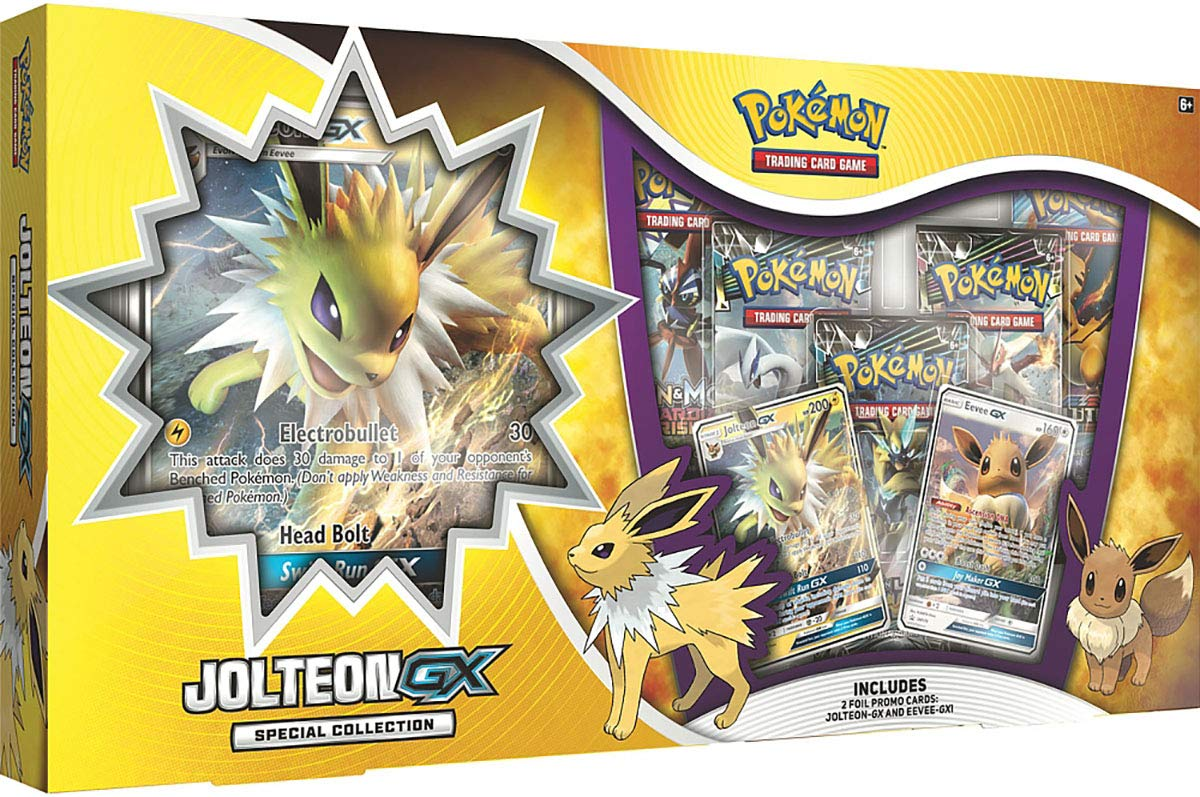 Pokemon TCG: Jolteon-GX Special Collection
