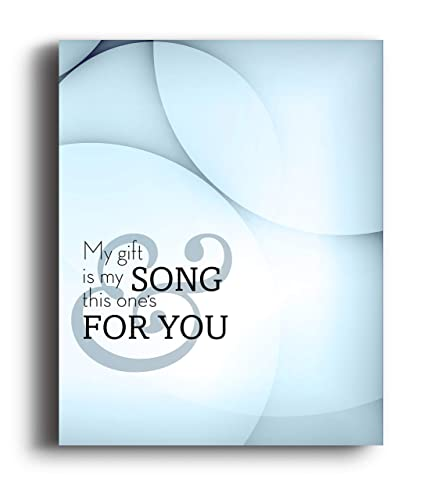 Amazon Com Your Song Elton John Music Quote Inspired Print Canvas Or Plaque Home Decor Anniversary Gift Song Lyric Wall Visual Art Handmade