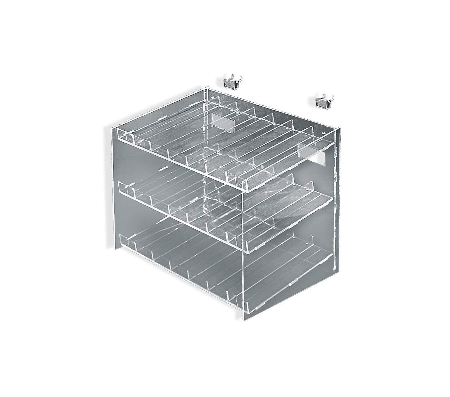 Premium 3-Tiered 21 Compartment Cosmetic Tray Storage