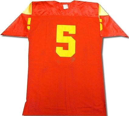 free shipping cf76c b9d2d Reggie Bush Hand Signed Autographed USC Trojans Jersey PSA ...