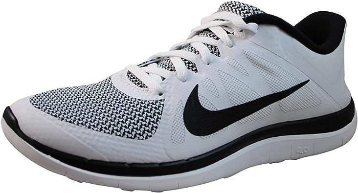 Nike Free 4.0 V4 White Black 642197 100