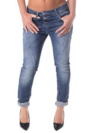 Wählen Sie für echte Großhandel populärer Stil PLEASE - P78 Women's Wrinkled Jeans: Amazon.co.uk: Clothing