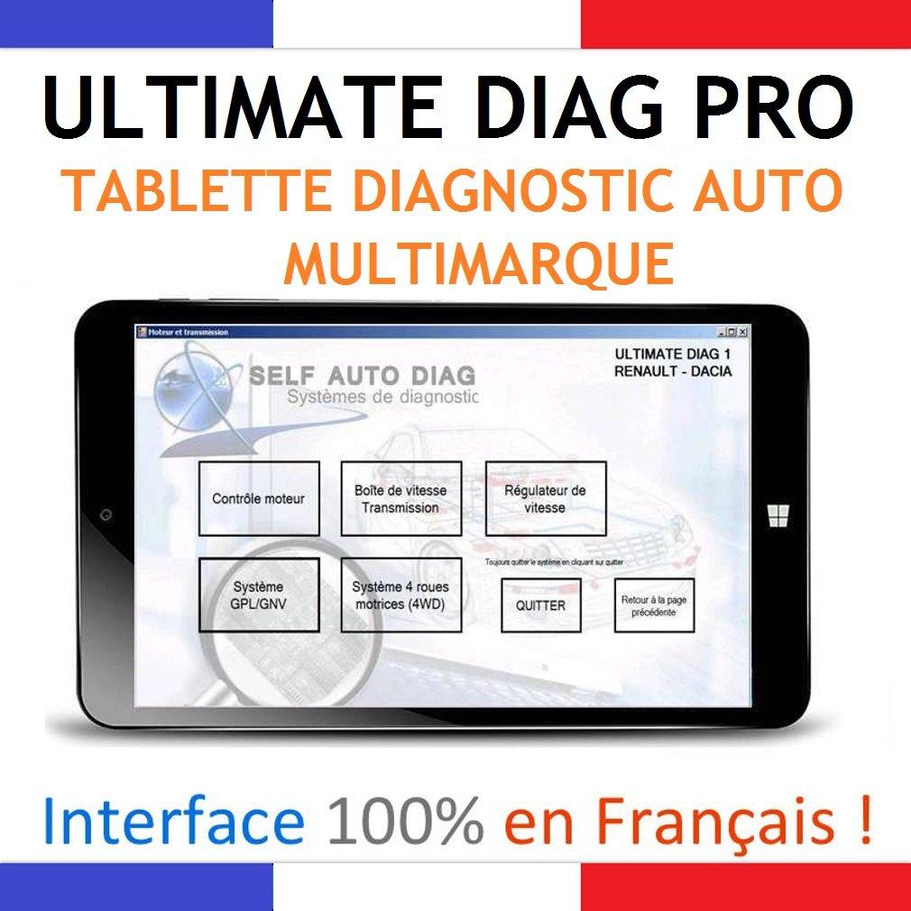 ultimate diag pro valise diagnostic tablette pc 8 pouces windows 10 ebay. Black Bedroom Furniture Sets. Home Design Ideas