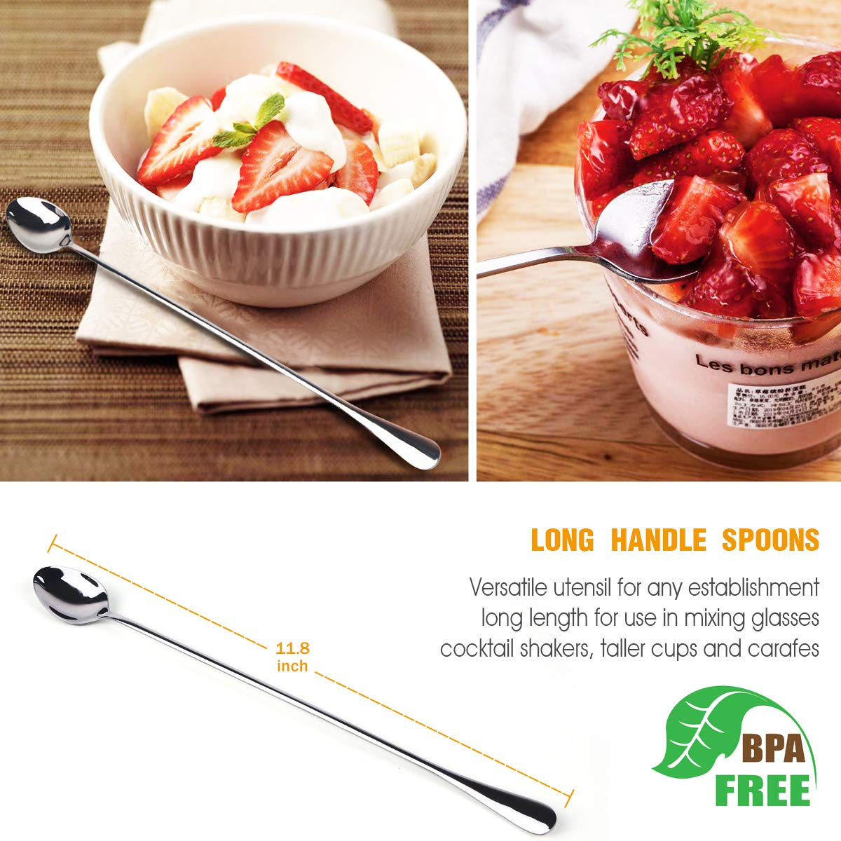 Silverware Flatware Cutlery Set,Portable Utensils LPOLER 32 Pieces Stainless Steel